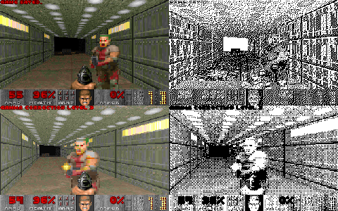 doom dithered